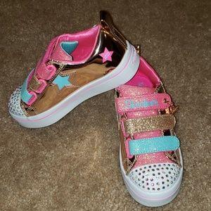 NWOB Twinkle Toes Skechers Sneakers